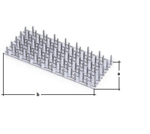 Dosky s hrotmi dĺžka strany b= 2 000mm