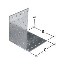 Uholníkové spojky KM a=40mm
