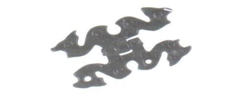 Závesy ozdobné motýľ kovaný